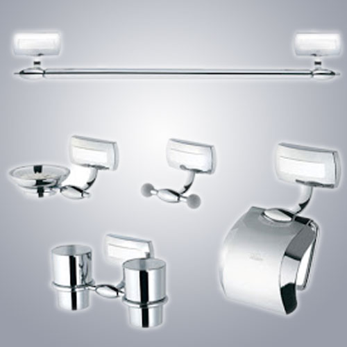 Bộ phụ kiện phòng tắm Hàn Quốc DA10-W-DAIN