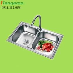 Chậu rửa đôi Kangaroo KG7843E