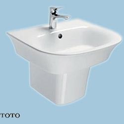 Chậu rửa Lavabo TOTO LW196K/LW196HFK