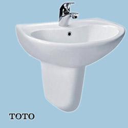 Chậu rửa chân lửng lavabo TOTO LHT240C