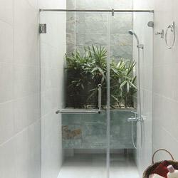 Phòng tắm kính cửa mở DQ 8171-2