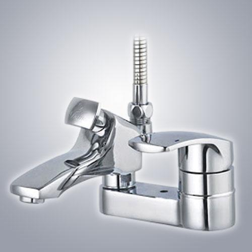 Vòi chậu lavabo nóng lạnh Hàn Quốc - DL553 DAIN