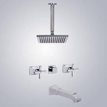 Vòi sen tắm âm tường inax BFV-81SEC